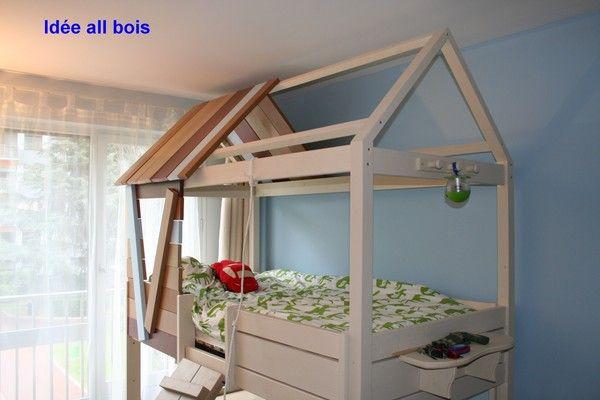 cabane enfant id e all bois page 35. Black Bedroom Furniture Sets. Home Design Ideas