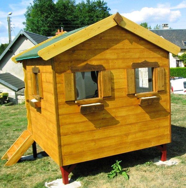 cabane enfant id e all bois page 46. Black Bedroom Furniture Sets. Home Design Ideas