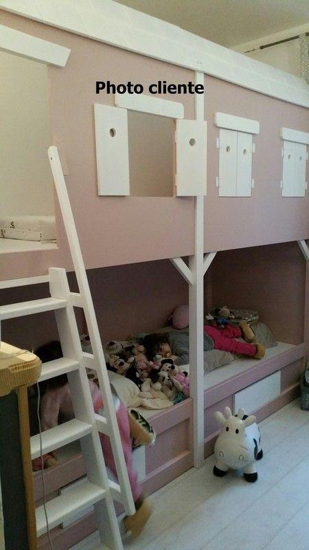 cabane enfant id e all bois page 5. Black Bedroom Furniture Sets. Home Design Ideas