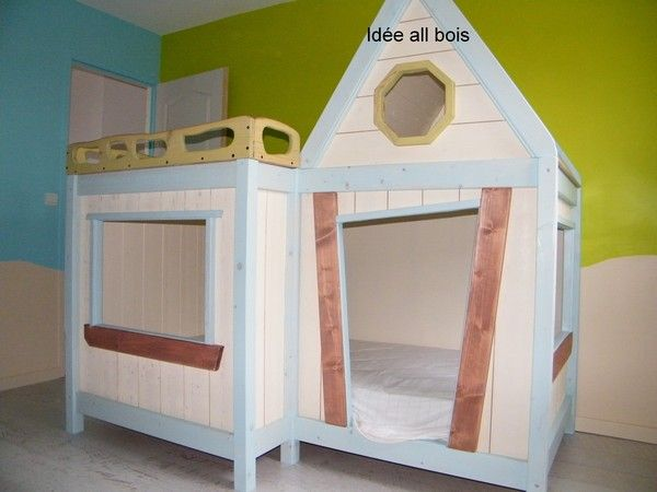 cabane enfant id e all bois page 16. Black Bedroom Furniture Sets. Home Design Ideas