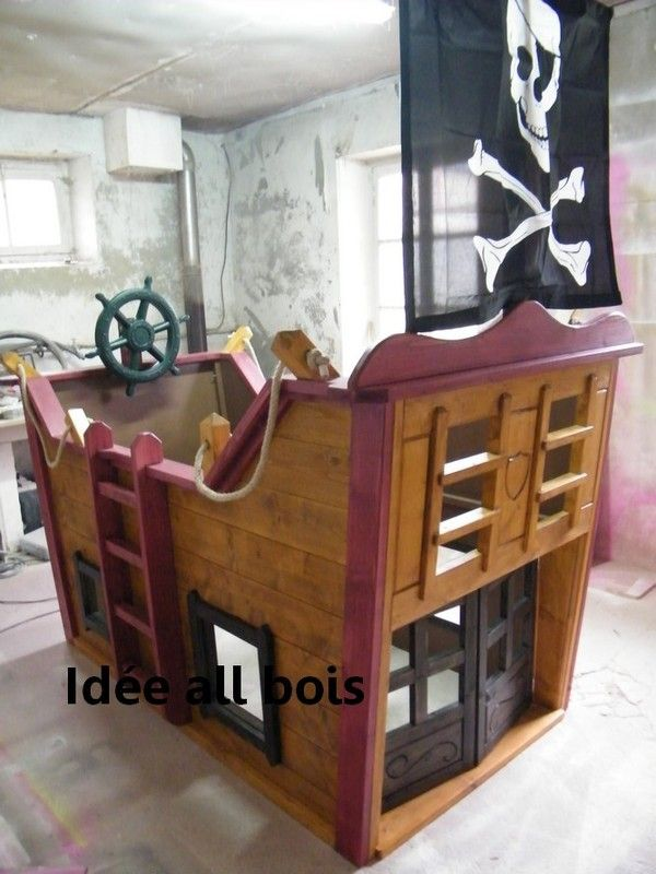 cabane enfant id e all bois page 7. Black Bedroom Furniture Sets. Home Design Ideas