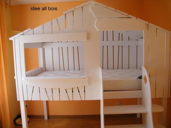 lit cabane a partir de 2 ans. Black Bedroom Furniture Sets. Home Design Ideas