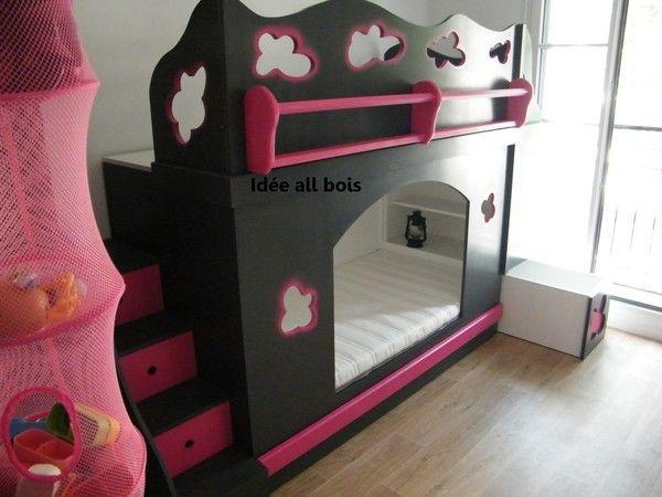 lit pour princesse. Black Bedroom Furniture Sets. Home Design Ideas